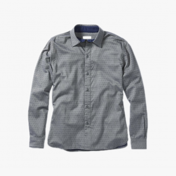 Larsen Brushed Cotton Shirt | The Collaborative Store