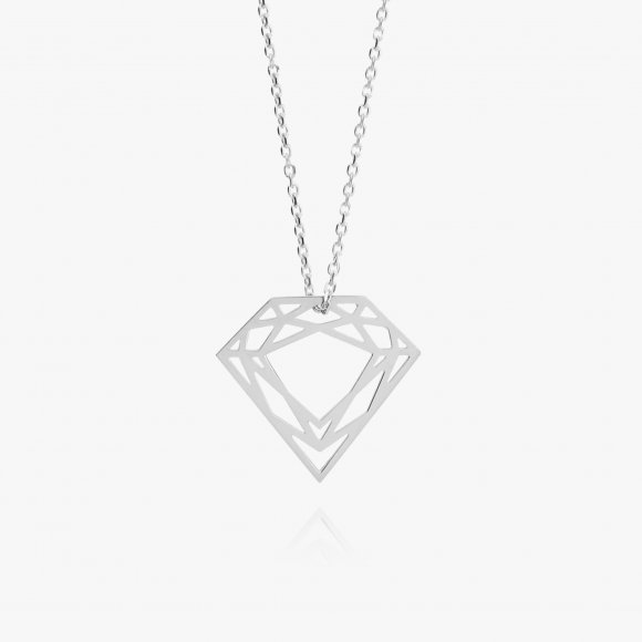 Large Diamond Necklace | The Collaborative Store