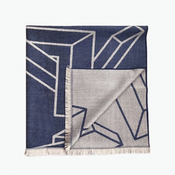 Geometric Pattern Scarf | The Collaborative Store