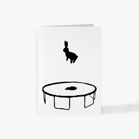 Bouncing Rabbit Card | The Collaborative Store