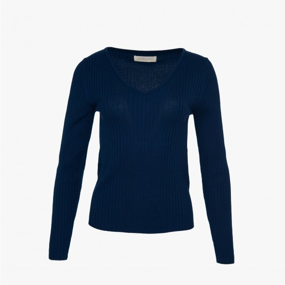 V-Neck Ribbed Knit | The Collaborative Store