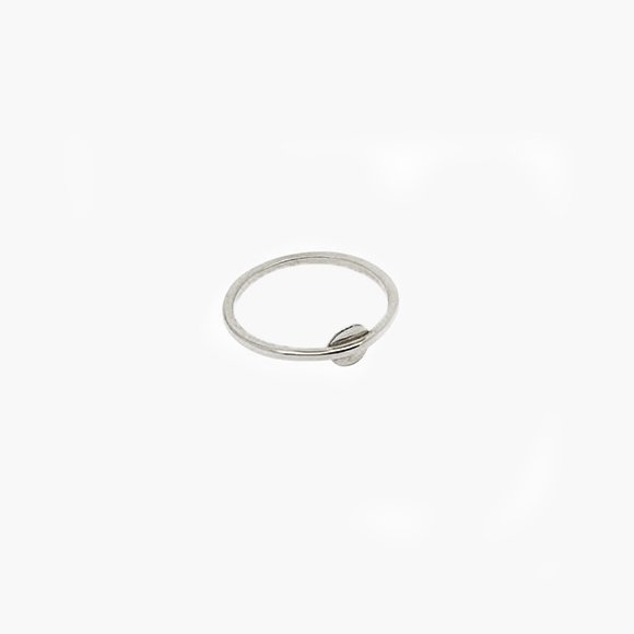 Silver Disc Midi Ring | The Collaborative Store