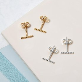 Mini Ball Bar Stud Earrings | The Collaborative Store