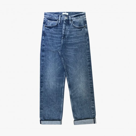 High Waisted Slim Selvedge Jeans | The Collaborative Store