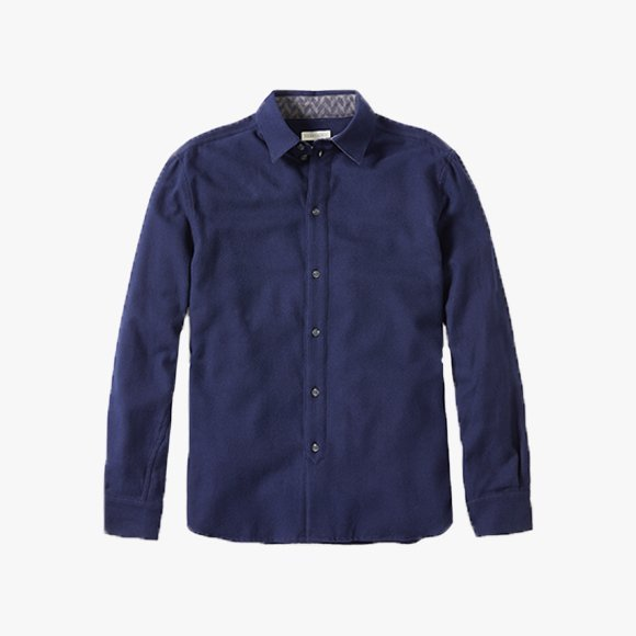 Brushed Cotton Club Shirt | The Collaborative Store