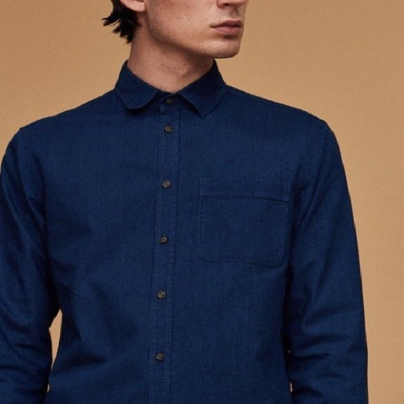 Indigo Classic Shirt | The Collaborative Store