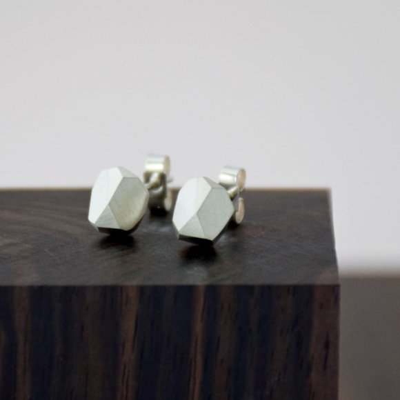 FIONN Gem Earrings Sterling Silver | The Collaborative Store