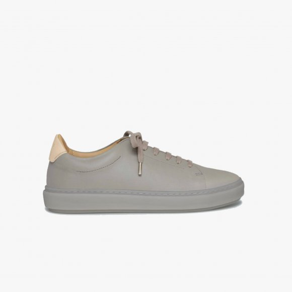 Grey Leather Sneakers | The Collaborative Store