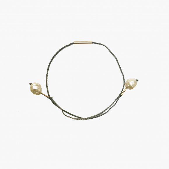 Rosebud 2 Pearl Bracelet | The Collaborative Store