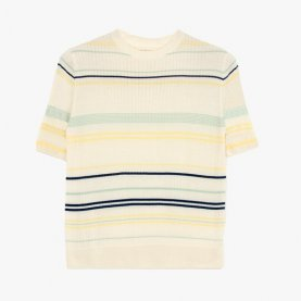 Striped Knitted T-shirt | The Collaborative Store
