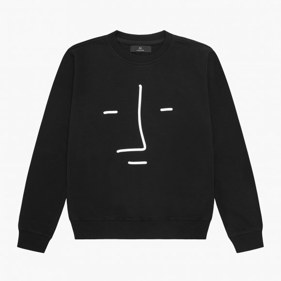 AV London x White Profile Sweatshirt (Exclusive) | The Collaborative Store