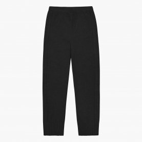 Luka Knitted Pants in Charcoal | The Collaborative Store