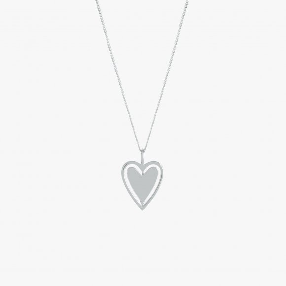 Spinning Around Heart Necklace | The Collaborative Store