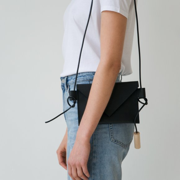 Water Resistant Leather Mini Bag | The Collaborative Store