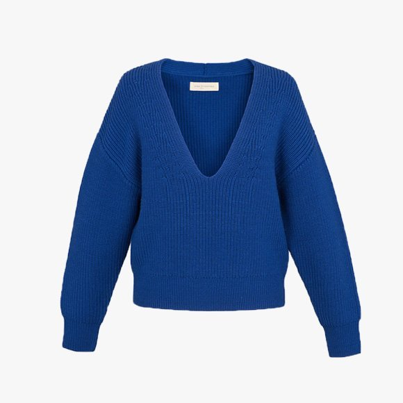 Chunky V Neck Sweater | The Collaborative Store