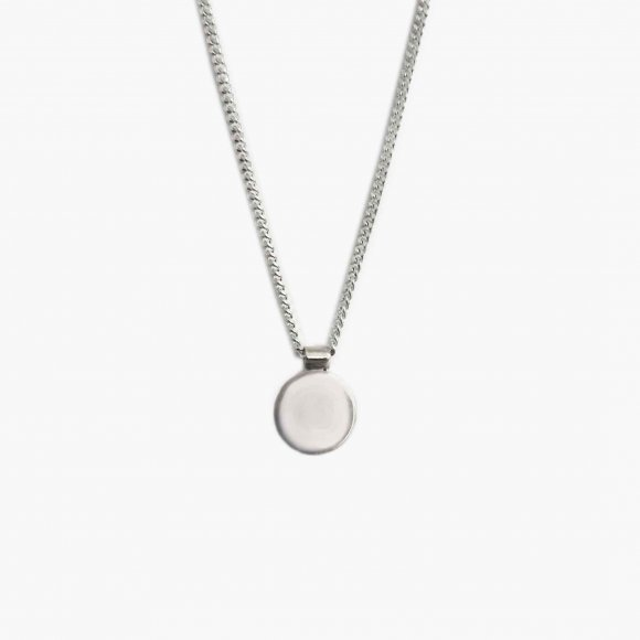 AMA Disc Silver Necklace | The Collaborative Store