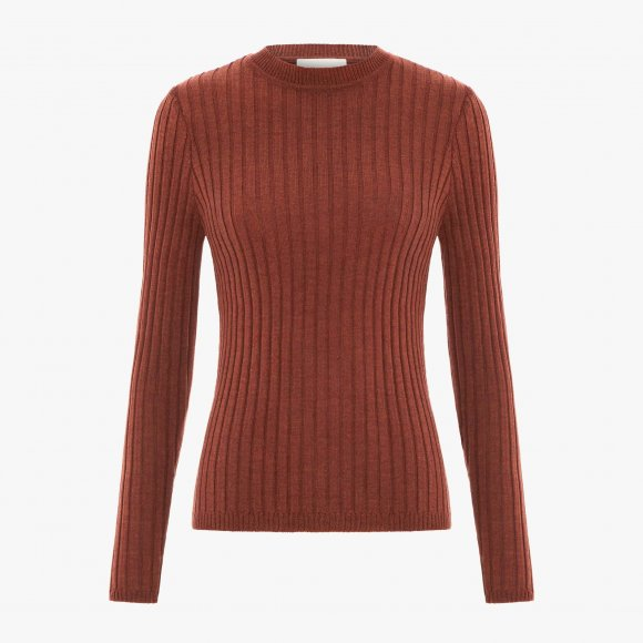 Valley Ribbed Merino Top | The Collaborative Store