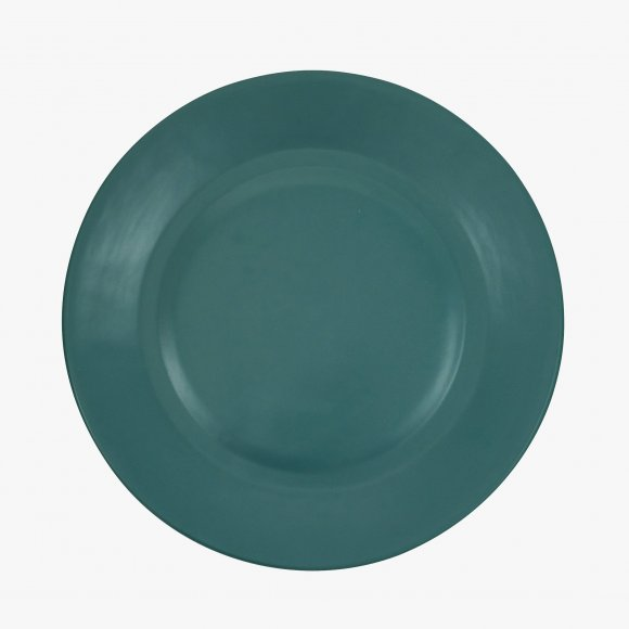 Matt Green Ceramic Dinner Plate | The Collaborative Store