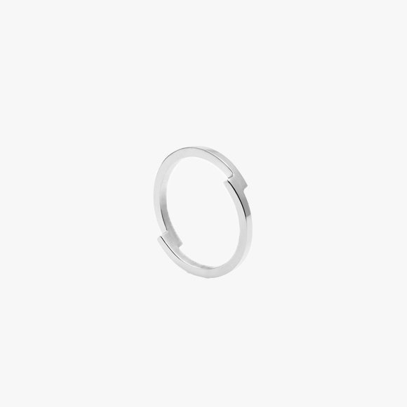 Double Arc Silver Ring | The Collaborative Store