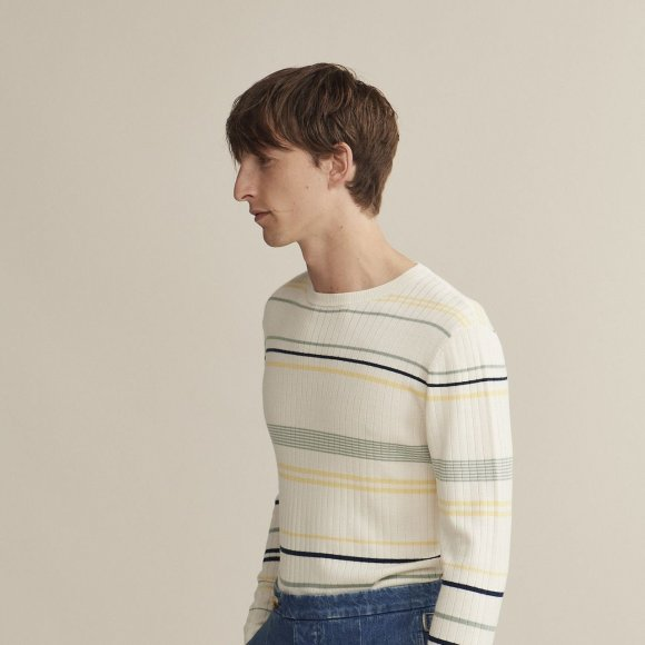 Ribbed Long Sleeve Sweater | The Collaborative Store