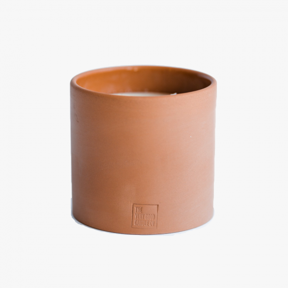Naeba Terracotta Botanical Candle | The Collaborative Store