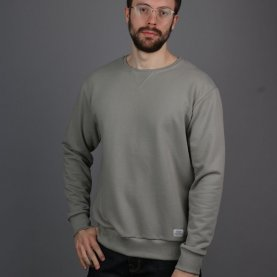 Taupe Milton Sweatshirt | The Collaborative Store