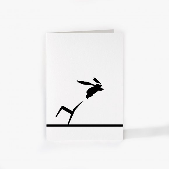 Superhero Rabbit Card | The Collaborative Store