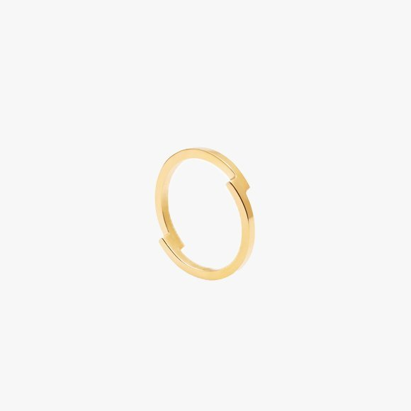 Double Arc Gold Ring | The Collaborative Store