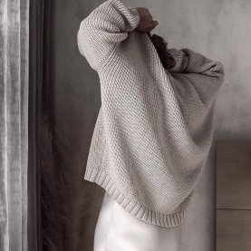 Laumes Oversized Merino Sweater | The Collaborative Store