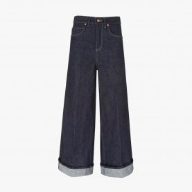 Wide Leg Japanese Selvedge Jeans | The Collaborative Store