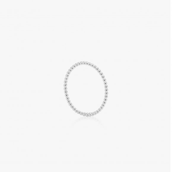 Skinny Ball Silver Stacking Ring | The Collaborative Store