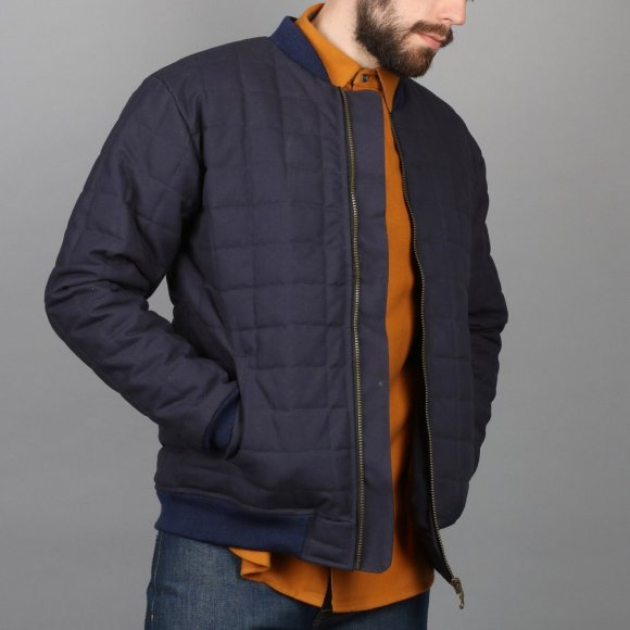 Quilted Bomber Jacket | The Collaborative Store