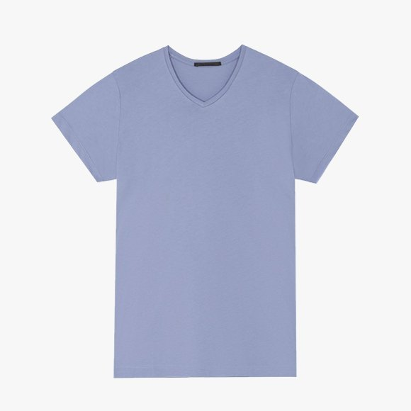 Pima Cotton V Neck T-Shirt | The Collaborative Store