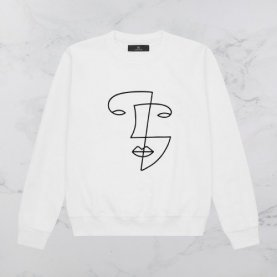 AV London x White Face Sweatshirt (Exclusive) | The Collaborative Store