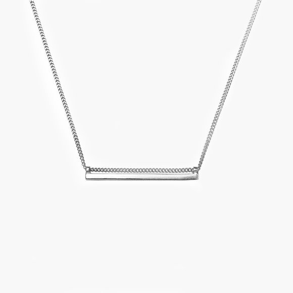 Silver Line Pendant | The Collaborative Store