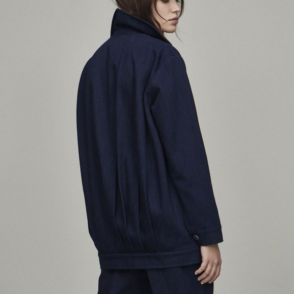 Pleat Back Jacket | The Collaborative Store