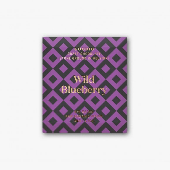 Wild Blueberry Raw Chocolate  | The Collaborative Store