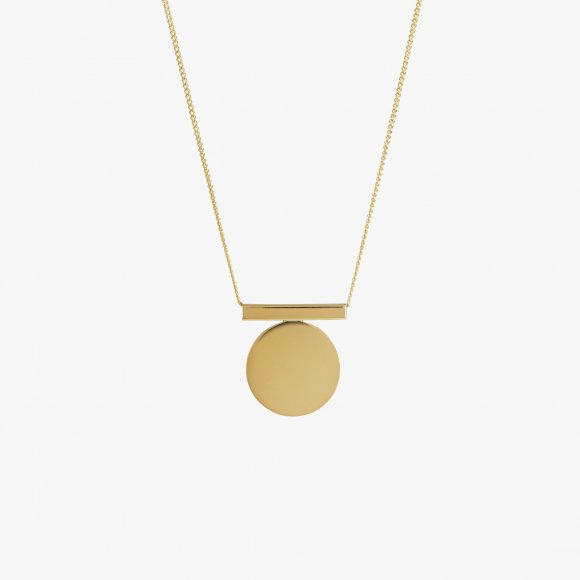 Full Circle Gold Necklace | The Collaborative Store