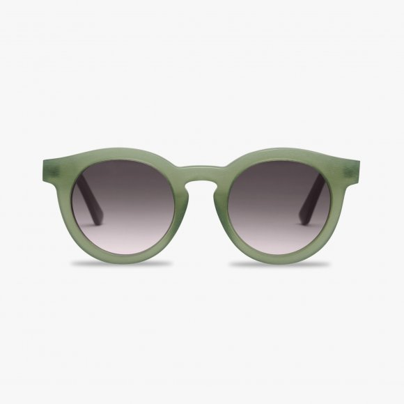 Steppe Green Bonin Sunglasses | The Collaborative Store