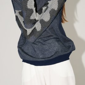 Saul Textured Knitted Sweater | The Collaborative Store