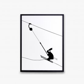 Ski Lift Rabbit Print | The Collaborative Store