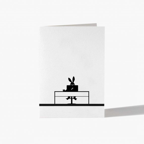 Working Rabbit Card | The Collaborative Store