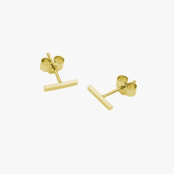 Mini Bar Stud Earrings | The Collaborative Store