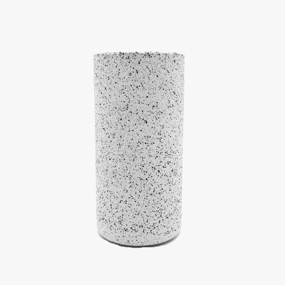 White Granite Vase  | The Collaborative Store