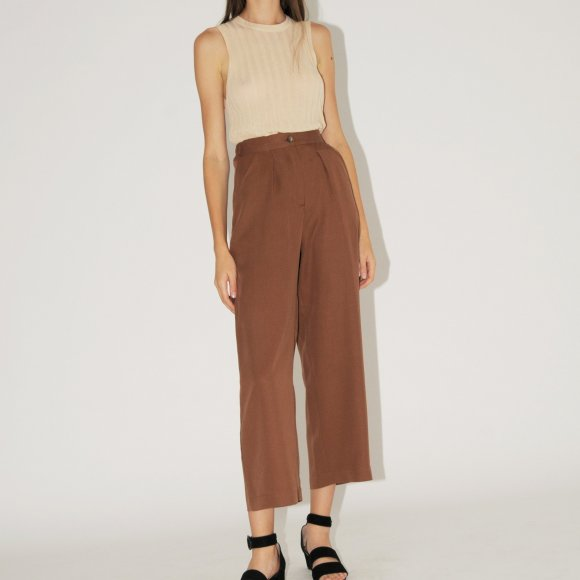 Rayder High Waist Cropped Trousers | The Collaborative Store