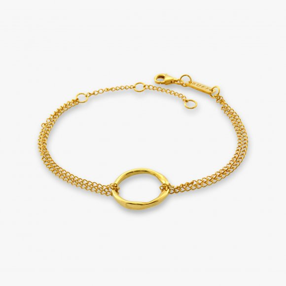 Circle of Life Gold Bracelet | The Collaborative Store