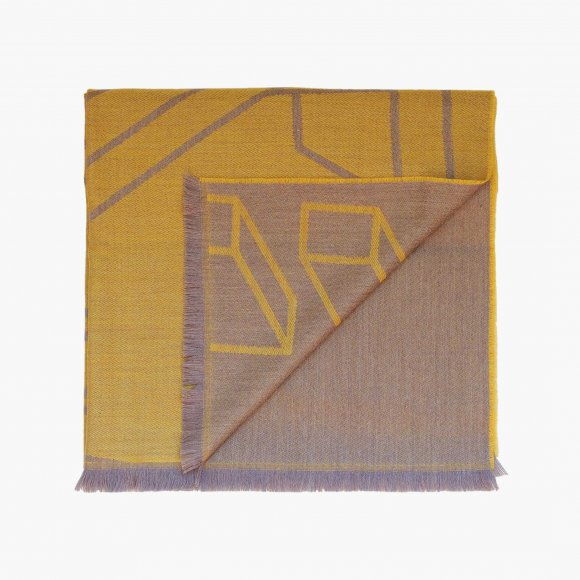Arvin Geometric Pattern Scarf | The Collaborative Store