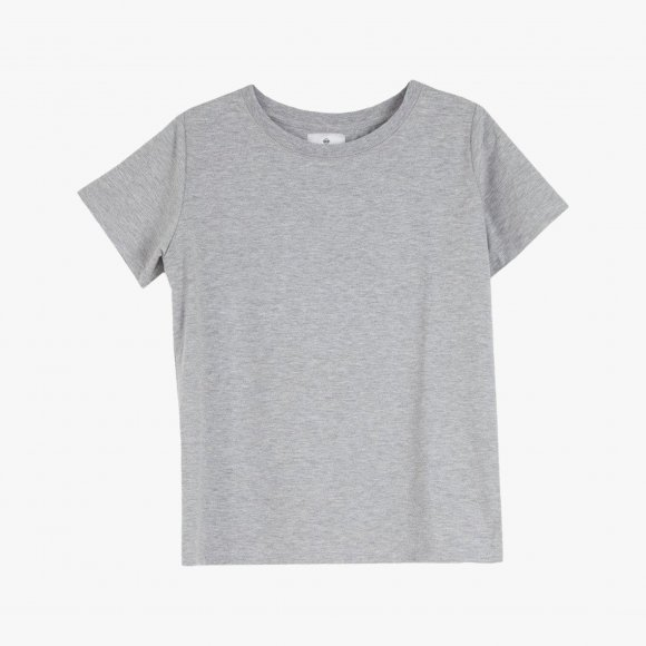 Kim Cotton T-Shirt in Grey | The Collaborative Store