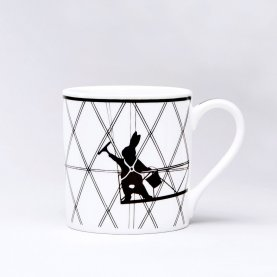 Window Cleaning Rabbit Mug | The Collaborative Store