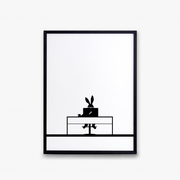 Working Rabbit Print | The Collaborative Store